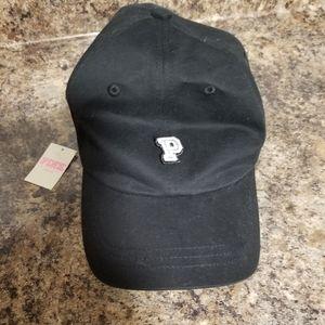 Pink adjustable hat